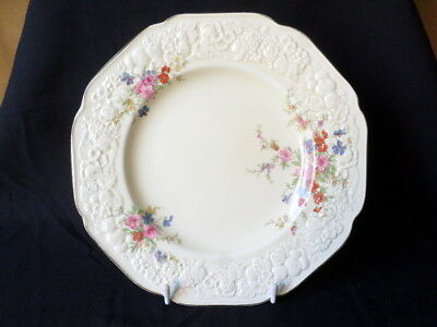 Crown Ducal. Florentine. Marie. Dinner Plate. Made In England.