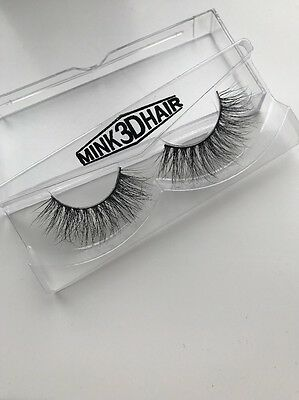Lilly Lashes Miami Style (Dupe) 3D Mink Kylie Jenner Fave False Eyelashes Huda