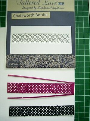CHATSWORTH BORDER Die D363 x Tattered Lace Stephanie Weightman