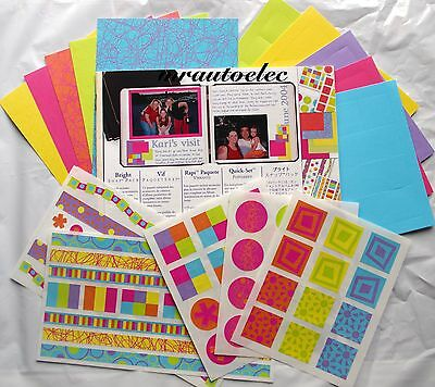 Creative Memories Bright Snap Pack / Kit Scrapbook/Card/Craft