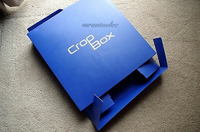 Creative Memories 12x12 Royal Blue Crop Box - EUC