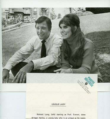 Richard Long Bridget Hanley Smiling Nanny And The Professor 1970 Abc Tv Photo
