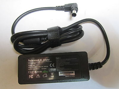 Replacement for 19V 1.7A AC Adaptor Power Supply for 29MT44D-PZ LG TV