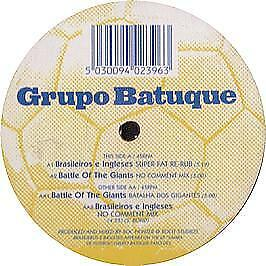 Grupo Batuque - Brasilieiros E Inglesus - Far Out - 1998 #319370
