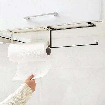 Cabinet Stainless Steel Toilet Paper Home Kitchen Roll Holder 1 Pcs Towel Rack