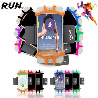 Mobile Phone Bag Arm Hanging Holder Bags Outdoor Sports Running Arm Band AU