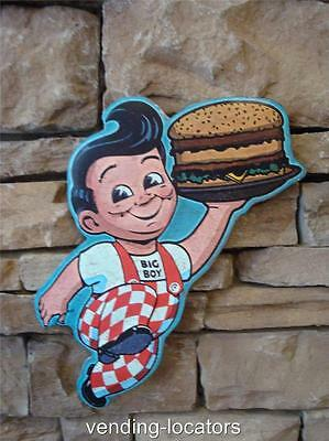 Bob's Big Boy Restaurant Advertising Shop Kitchen Garage Embossed Metal Sign New