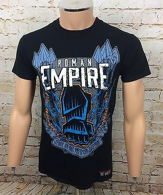 WWE Roman Reigns Roman Empire Believe That T-Shirt Top Black Sz Small / S Mens