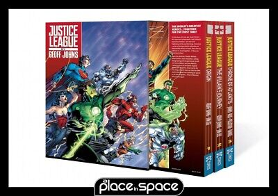 Justice League By Geoff Johns Box Set Vol 01 - Softcover