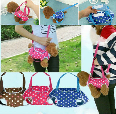 Dog Carrier Bag Pet Puppy Cat Shoulder Sling Holder Travel Tote for Small Dogs
