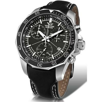 Vostok Europe N1 Rocket Chrono Line Silver/Black Watch 6S30/2255177