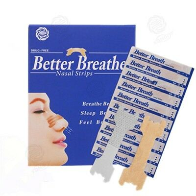 FREE 1000 Nasal Nose Sleep strips better breathe Stop Snoring Breath Easier UK
