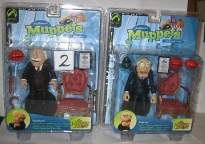 The Muppet Show Statler & Waldorf Palisades Figure Set by Palisades Toys