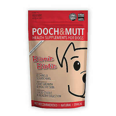 POOCH AND MUTT   BIONIC BIOTIC   Dog supplement for itchy skin (200g)