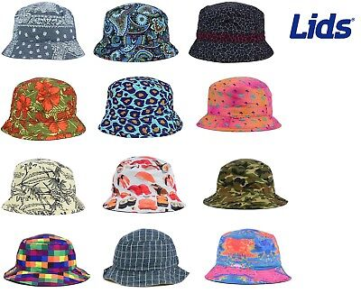 618bd16025c LIDS REVERSIBLE PRINTED Bucket Hat - MANY STYLES - ALL SIZES -  4.99 ...