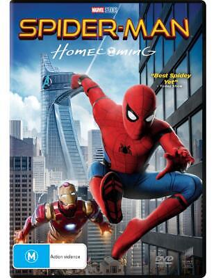 Spider-Man - Homecoming - DVD Region 2,4,5 Free Shipping!