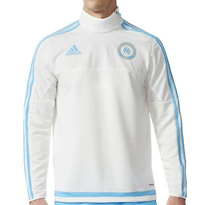 adidas Performance Mens Olympique De Marseille Football Training Jumper Top