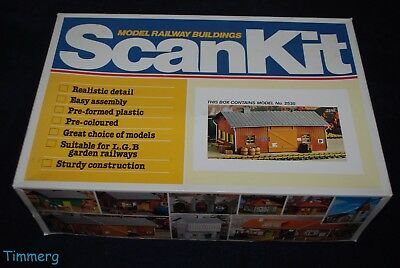 Model Railway Buildings Scan Kit 2530 Freight Terminal G Scale New **