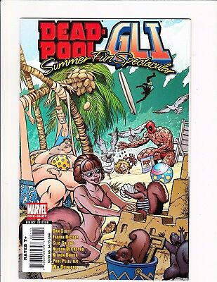 Deadpool Gli Summer Fun Spectacular 1-Shot Early Squirrel Girl Appearance Rare!