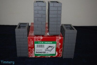 LGB 50612 G Scale Single-Layer Bridge Pillar 36 Pieces Set MIB **