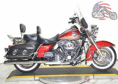 2009 Harley-Davidson Touring  2009 2-Tone Harley Davidson Road King Classic FLHRC Security Cruise Many Extras!
