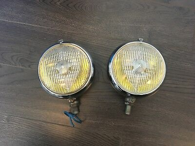COMPLETE PAIR of SEV Marchal 660 670 680 driving lights for Ferrari, Shelby