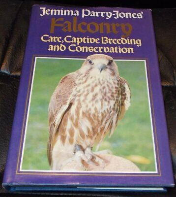 Falconry by Parry-Jones, Jemima Hardback Book The Cheap Fast Free Post