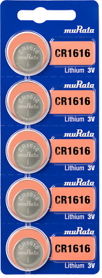 5Pcs SONY CR1616 Coin Cell 3V Lithium Watch Battery Made in Japan + Tracking
