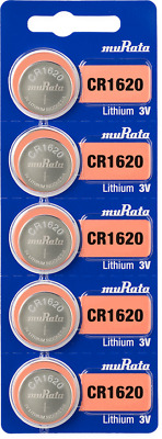 Sony CR1632 3 Volt Lithium Coin Cell (5 Batteries) - Tracking Included!
