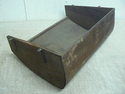Antique OEM Singer Sewing Machine No.6 Cabinet Parts: Bottom Panel Oil Pan