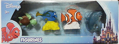 Disney Finding Nemo Dory Squirt Bruce 4 pack Figurines Set Gift Toy Cake Topper