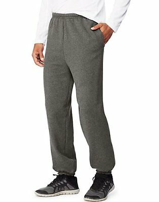 Hanes Sport Ultimate Cotton Men's  Fleece Sweatpants With Pockets