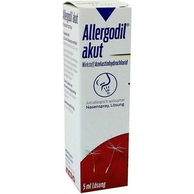 ALLERGODIL akut Nasenspray 5 ml MEDA Pharma GmbH & Co.KG