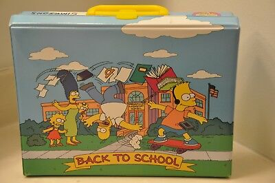 "RARE 1991 The SIMPSONS ""CASSETTE CASE"" from HOLLAND =Holds 30"