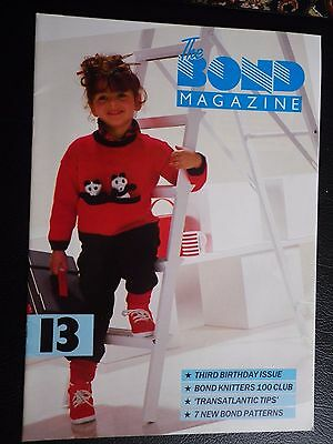 Bond Machine Knitting Pattern Booklet Magazine 13 with 7 Family Patterns
