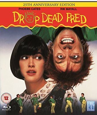 Drop Dead Fred - 25th Anniversary Edition [Blu-ray Movie, Region Free] NEW