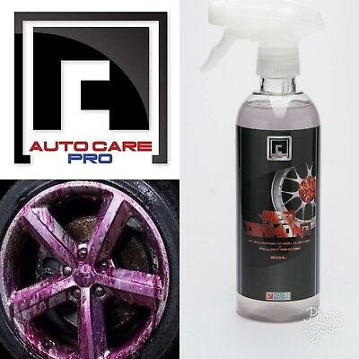 AUTO CARE Iron Fallout Remover Alloy Wheel Cleaner Decontamination PH 7 Neutral.