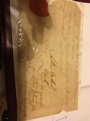 Arthur Wellesley duke of Wellington India 1799 hand signed rare item