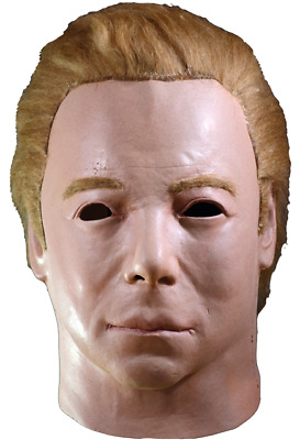 Trick Or Treat Star Trek Captain Kirk 1975 Mask Halloween Costume JMCBS100