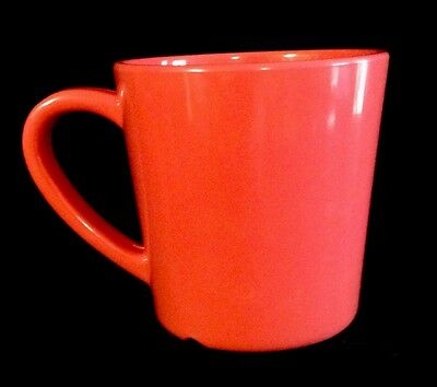 Lot of 4 Thunder Group Colors Collection Melamine 7 Oz Coffee Cups  Red New