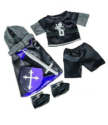 """Gallant Medieval Knight costume outfit teddy bear clothes fits 15"""" Build a Bear"""