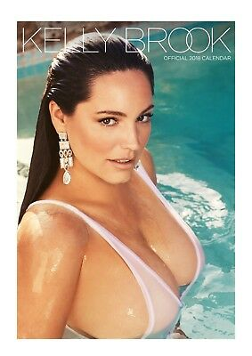 Kelly Brook Official 2018 Calendar A3 Poster Format Calendar Hot Sexy Curves NEW