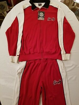 Shady LTD Red & White Jumpsuit 2XL. EXTREMELY RARE! (NWT)
