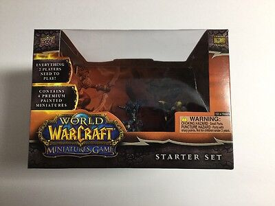 World of Warcraft: The Miniatures Game Starter Set by Upper Deck  UDC62871-S