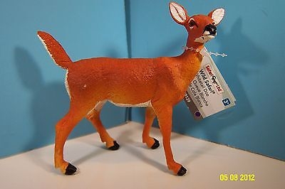 Safari LTD North American Wildlife-Whitetail Doe Deer-New