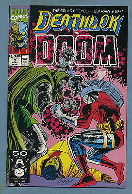 Deathlok #3 1991 Marvel Comics