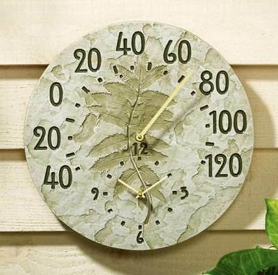 Fossil Sumac Thermometer Clock [ID 475121]