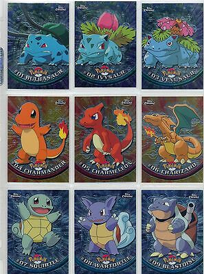 Complete Topps Pokemon CHROME Series 1 - Set of 78 New Cards! L@@K!
