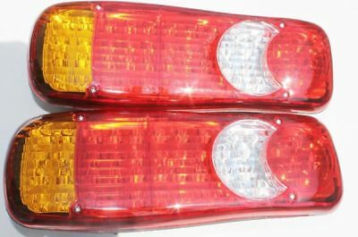 46 Led Rear Tail Light Truck Lorry Fits FOR Scania Volvo Daf Man Iveco 2 x 24v