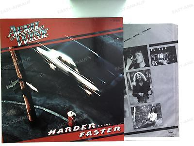 April Wine - Harder.....Faster GER LP 1979 + Innerbag /3
